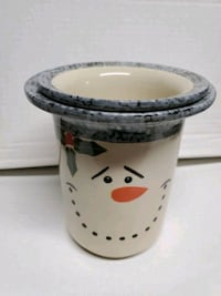 Snow man dip warmer
