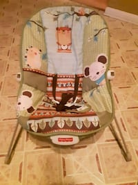 white and brown wooden rocking chair Midland, 22728