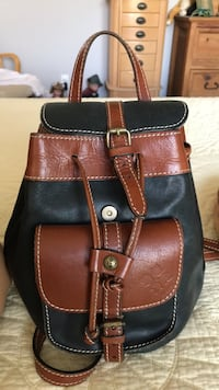 brown and black leather crossbody bag San Diego, 92105