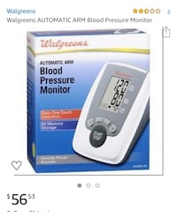 Automatic inflate blood pressure/pulse monitor