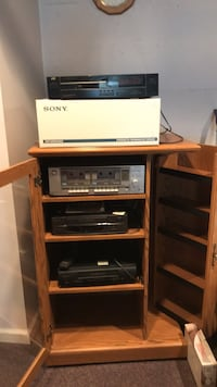 Stereo System and Cabinet
