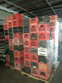 Milk crates ..vegetable crates .. storage Houston, 77038