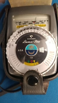 GOSSEN LUNA PRO LIGHT METER GERMANY. Washington, 20002