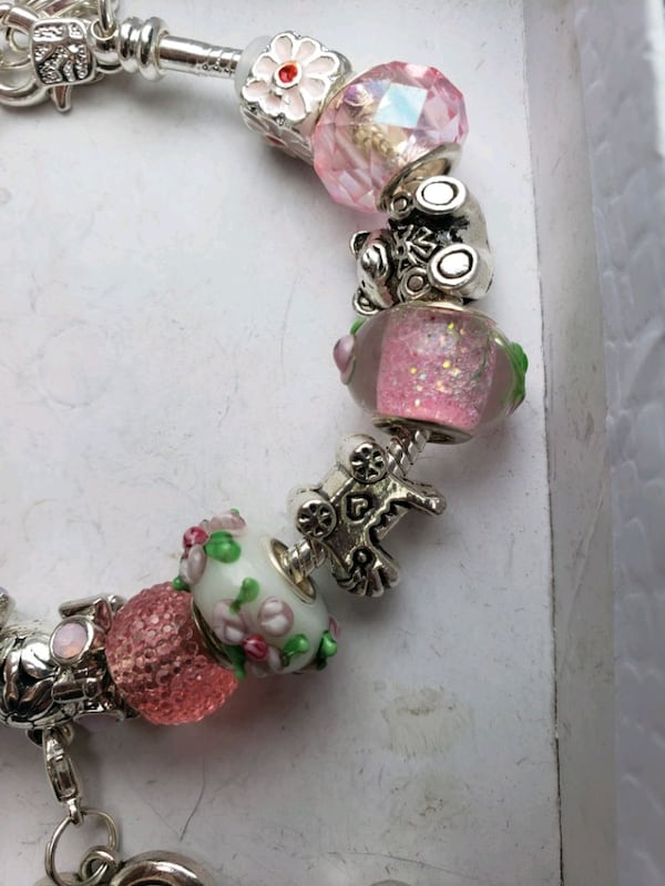 Baby girl mom to be charm bracelet 1for $15 or 2 for $25 1dc6482f-784b-4702-b897-096d2816482a