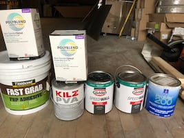 Paint , adhesive, grout