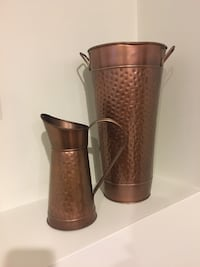 Vase and pitcher set