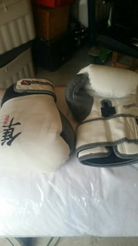 white-and-gray boxing gloves 3150 km