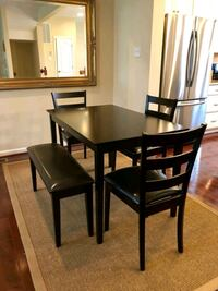 New Dining Table with Chairs and Bench Dinette Room Set  Bethesda