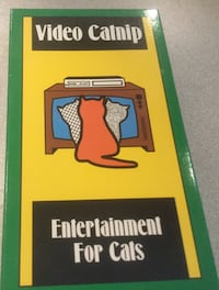 Video Catnip Entertainment for cats.  VHS TAPE Centreville, 20120