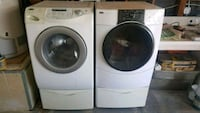 white front-load washer and dryer set Loma Linda, 92354