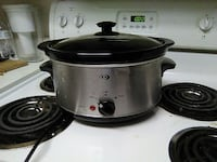 stainless steel and black slow cooker Houma, 70364