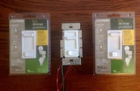 Lutron 3 C-L dimmers