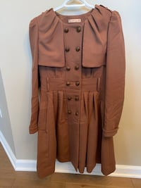 Brown button-up coat Fairfax, 22030