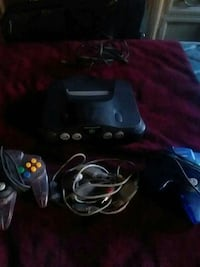 black Nintendo 64 console with controller Harpers Ferry, 25425