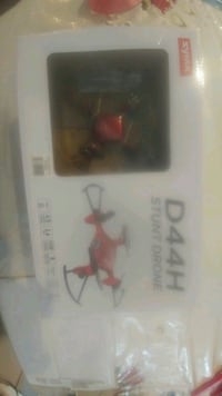 red Zyma D44H drone  Montreal, H4A