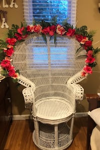 Peacock Chair for wedding Shower