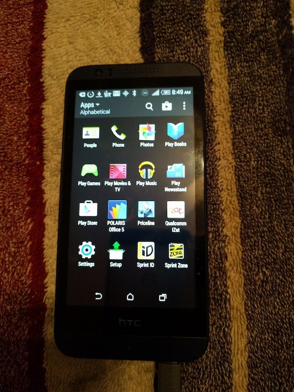 Used Htc Sprint Prepaid Opcv1 Cell For Sale In Folsom Letgo