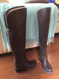 Nine West over the knee boots, size 8, brand new