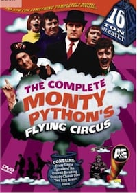 (Brand New) The Complete Monty Python's Flying Circus 16 Ton Megaset