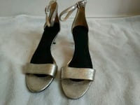 Nine West silver dress shoes size 7