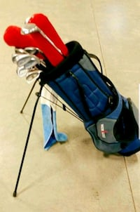 COBRA KING 2 GOLF CLUB SET w/BAG *(COMES WITH BUILT-IN STAND)*!! Edmonton, T6R
