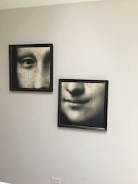 Mona Lisa art frames