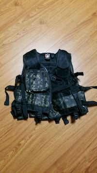 Paintball Multifunctional Tactical Camo Vest Toronto, M6A 2W4