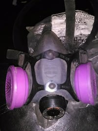 purple and black mask for silica Burnaby, V3N 1P1