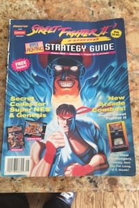 Streer fighter 2 turbo strategy Guide old school Lynbrook, 11563