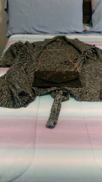 Belted Sweater/ purse, 4x- size $35.00/together .Separately Best offer