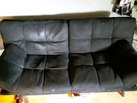 FUTON..Black suede purchased 2 months ago..good co Portsmouth, 23704