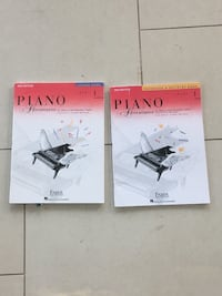 Piano books - Various