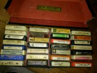 Case of 8 Track Tapes Grant, 49327