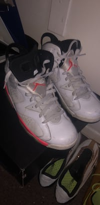 Infrared Jordan 6's(white) Fairfax, 22031