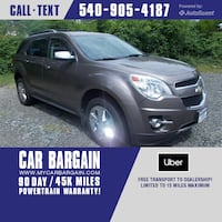 2012 Chevrolet Equinox LTZ Warrenton, 20186