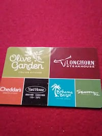 two $ 50 gift cards Spring Mills, 16875