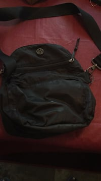 black and gray leather backpack Calgary, T2G 2R4