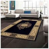 Exclusive Unique and Elegant Medallion 5 X 8 Area Rug, Carpet, Mat, Coffee Color (BRAND NEW) Richmond, 23220