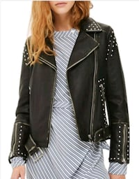 New small faux leather jacket  Toronto, M2N 7C3