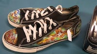Handpainted Size 13 Tennis Shoes