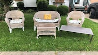 Wicker set pick up only on curb  Corning, 14830