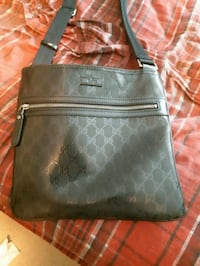 black leather Louis Vuitton monogram bag Mississauga, L5M 5T8