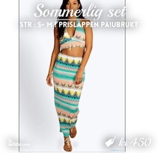 Sommerlig two piece
