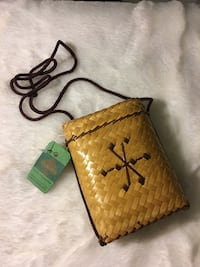 Bamboo Coin Purse