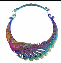 Purple, blue, and green necklace Alexandria, 22304