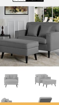 Brand New Loveseat with Ottoman Washington, 20020