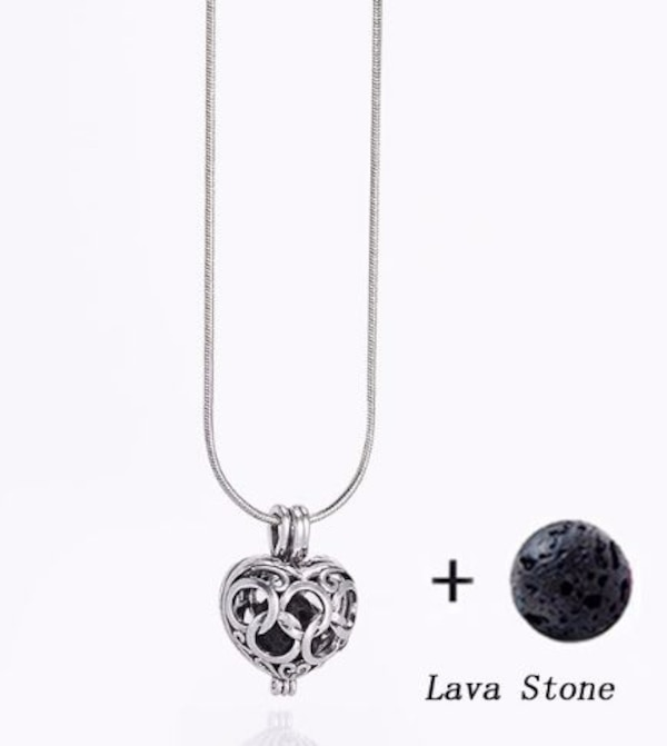 NEW - Aromatherapy pendant or bangle with lava stone