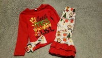 Little Miss Naughty List boutique outfit Norris