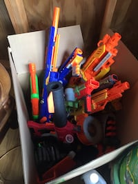 assorted color plastic toy lot Kinston, 28504