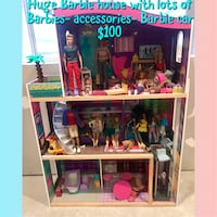 Huge Barbie house With Extras  Clearfield, 84015